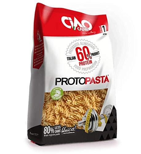 8 Ciao Carb ProtoPasta 60% Protein Fusilli da 200 g.