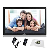 Miracle Digital 10 inch Digital Photo Frame with Hi-def LCD Panel Screen | Support SD Card USB Mini HDMI | Functional Remote Photos Slide Show Video Audio