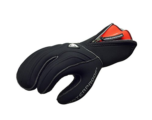Waterproof Guantes G1 7mm 3 Finger - M