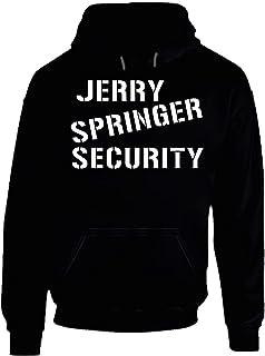 Jerry Springer Security Logo Tee Cool Halloween Costume Hoodie. Black