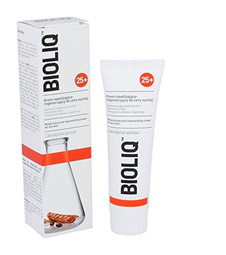 Bioliq 25 + 50 ml – Hydratant et régénérant Crème pour peaux sèches – Il garantit une peau hydratation optimale. Il Nourrit Intensément et Régénère.