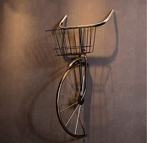 QBDS Decorazione Vintage da Parete Vintage in Ferro battuto per Biciclette Decorazione da...