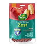 Heads Up For Tails Gluten and Grain-free Happi Doggy Dog Treats Dental Chew Zest (Apple, 150 g)