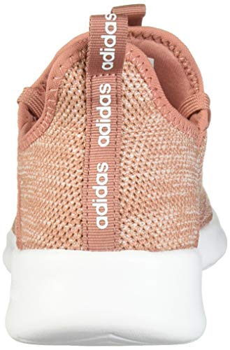 adidas womens Cloudfoam Pure Running Shoe, Pink/Pink/White, 7.5 US