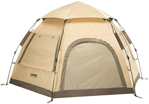 CAMPZ Hexa OT 3P Zelt beige/grau 2021 Camping-Zelt
