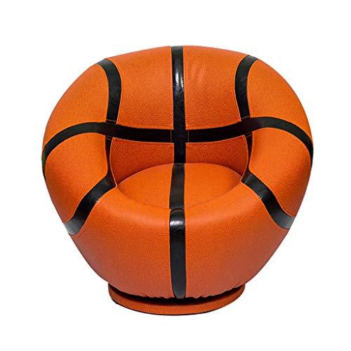 Personnalité Créatif Fauteuil, Américain Tourner Basketball Football Football Pour 4-12 Ans Garçon Fille (Color : Basketball)