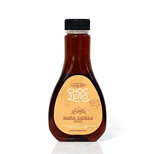 ChocZero Syrup, Maple Vanilla. Sugar free, Low Carb