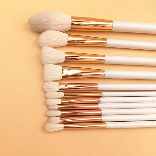 Prime Synthetic Make Up Brushes, 11 pièces de haute qualité manche en bois professionnel blush fondation fard à paupières maquillage de beauté outils