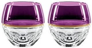 Elysian Amethyst Special Edition Rocks Glass, Pair