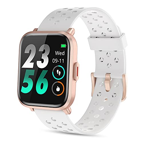 Nemheng Reloj Inteligente Mujer Hombre, Smartwatch con Monitor de Sueño Pulsómetros Caloría Contador, Fitness Tracker de 5ATM Impermeable, Relojes Deportivo con Brújula