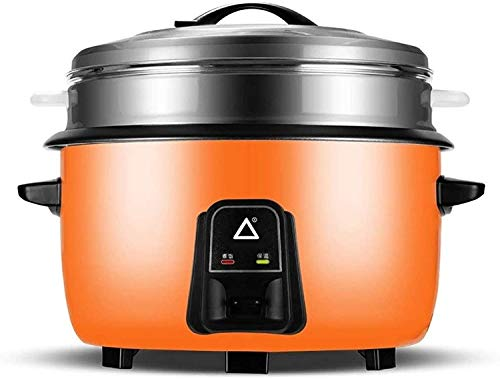Rice Cooker Large Rice Cooker 10L / 220V / 1600W (for 10-15 People) Large Capacity Stainless Steel Steam Rice Cooker for Canteen Restaurant Hotel Fast Food