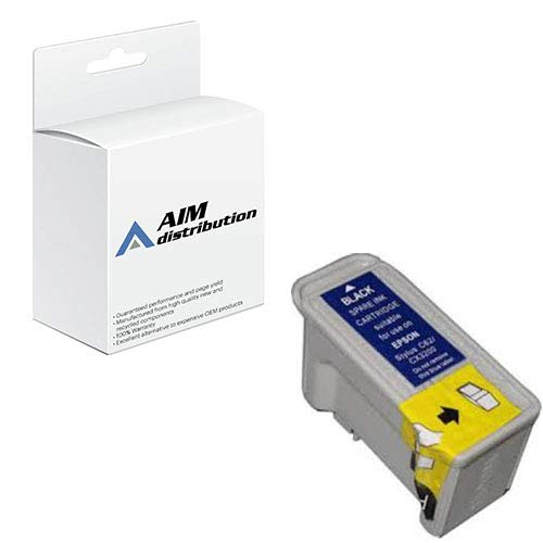 AIM Remanufactured Replacement for Stylus C62/CX3200 Black Inkjet (420 Page Yield) (T040120-US)