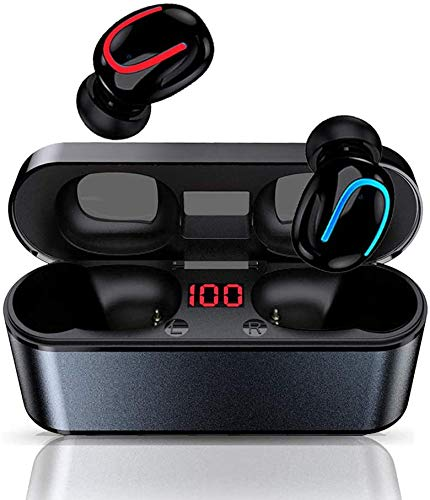 COOLEAD Bluetooth 5.1 Earbuds,Wireless Earbuds,Waterproof,Built in Mic Bluetooth Headset for iPhone,Samsung,Huawei,Xiaomi,Sony,LG.
