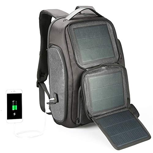 Ssszx with Solar-Panel Solarpanel for Smartphone 15.6 Inch USB Solar...