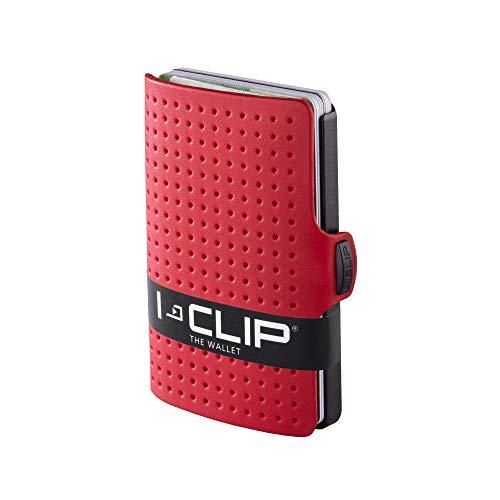 I-CLIP  Cartera AdvantageR Rojo, Gunmetal-Black (Disponible En 8 Variantes)