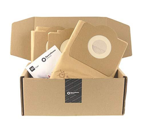 SpareHome Products - 10 Bolsas para aspiradores Parkside Lidl, PNTS1250, PNTS1250/9, PNTS1300, PNTS1400, PNTS1300A1, PNTS1300B2, 1300C3