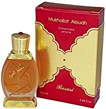 Rasasi Mukhallat Al Oudh for Men and Women (Unisex) CPO - Concentrated Perfume Oil (Attar) 20 ML (.67 oz)