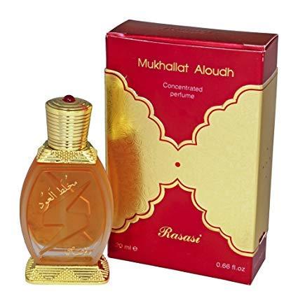 Rasasi Mukhallat Al Oudh Oriental Perfume Attar