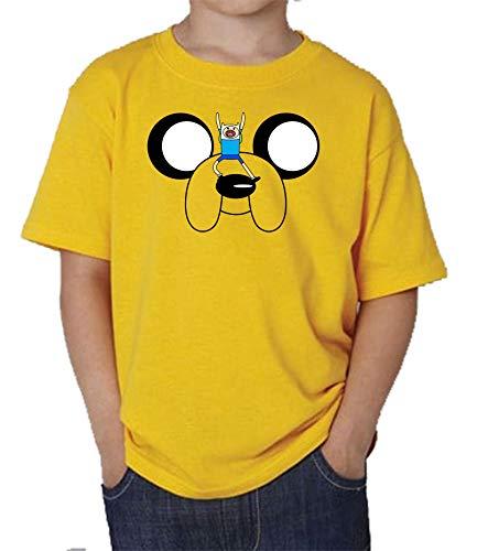 The Fan Tee Camiseta de NIÑOS Hora de Aventuras Jake Finn 011 3-4 años