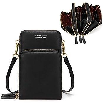 Small Crossbody Phone Bag for Women,Cellphone Shoulder Bags Card Holder Wallet Purse
