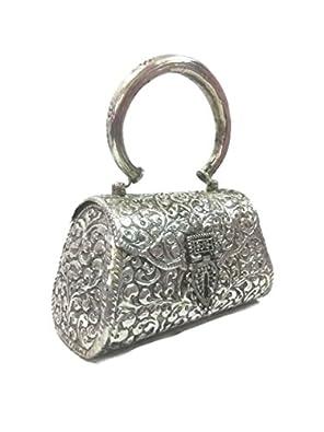 Trend Overseas Women's Clutch (Handle_Clutch_06_Silver)