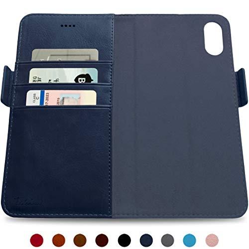 Dreem Fibonacci Folio Replacement (TPU CASE NOT Included) for iPhone 7 & 8 - Royal Blue