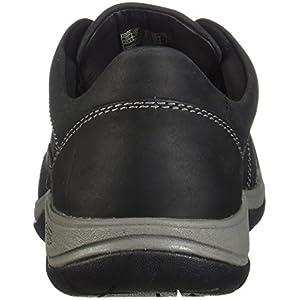 KEEN Women's Presidio II-W Hiking Shoe, Black/Steel Grey, 9.5 M US