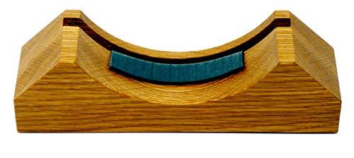Tabic Handgemaakte Effen Engels Eiken Mantel/Display Mount, Natuurlijke Lak Finish