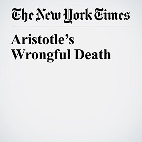 Aristotle's Wrongful Death audiobook cover art