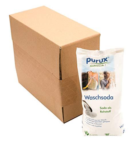 purux Waschsoda Pulver 1kg Natriumcarbonat nachhaltig verpackt