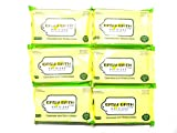 Easy Bath Wipes Wet Wipe 10s Pack - Combo of 6