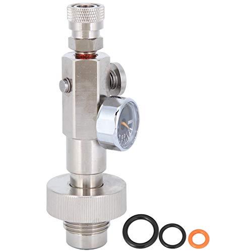 Válvula de inflado hexagonal Válvula de carga duradera Alta fiabilidad, para extinción de incendios