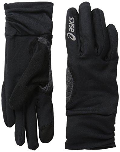ASICS Womens Thermopolis Lt Ruched Glove, black, Small/Medium