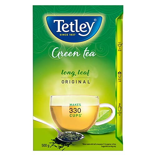 Tetley Green Tea Packet, 500g