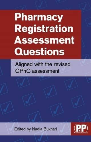 Pharmacy Registration Assessment Questions (Tomorrows Pharmacist)