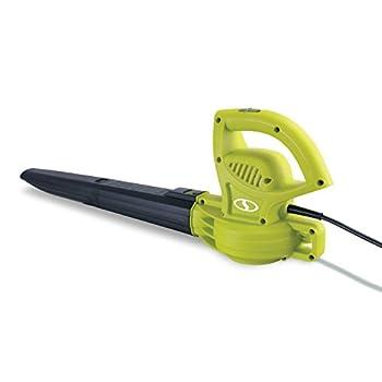 Sun Joe SBJ597E 6-Amp 155 MPH Electric Leaf Blower Green