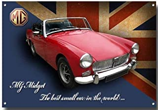 MGB GT Quality metal sign with enamelled finish