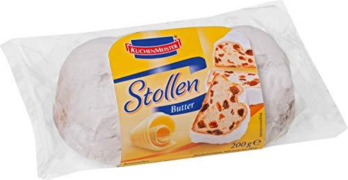 Kuchenmeister Butter Stollen mit Rosinen und Puderzucker 200g
