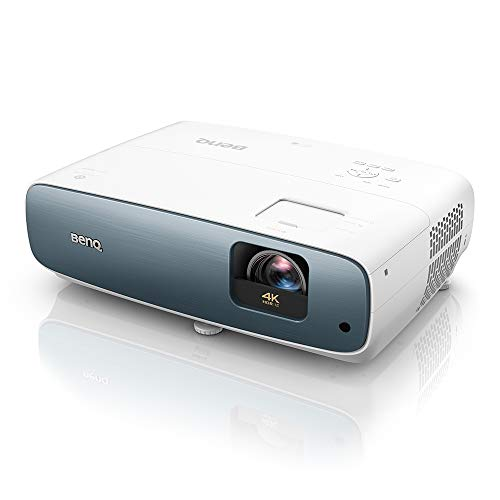 BenQ TK850i Videoproiettore Smart Home Entertainment True 4K con Android TV e HDR-Pro, 3000 Lumen, 98% di Rec.709 per maratone di film, telefilm e sport