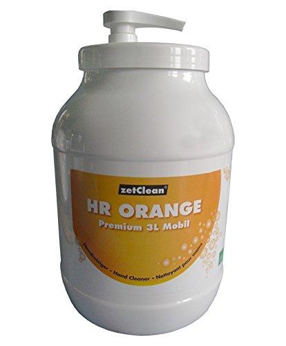 ZVG Handreiniger Handwaschpaste KFZ Industrie Orange Premium 3L 3 Liter