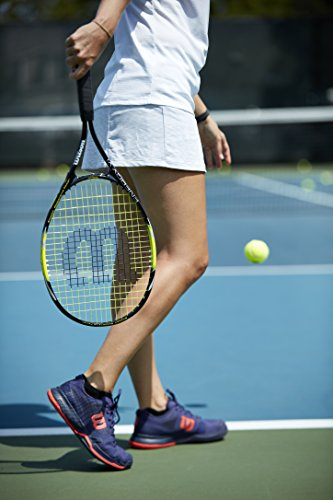Product Image 5: Wilson Sporting Goods Energy XL Tennis Racquet (EA) , Yellow/Black, 4 3/8″