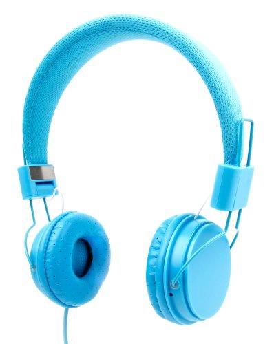 DURAGADGET Auriculares De Diadema Color Azul para Tablet Lenovo MIIX 510-12IKB, SPC Glow 10, SPC Glee 10.1 Quad Core
