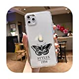Harry Styles Treat People with Kindness One Direction - Funda blanda para iPhone 11 Pro XS MAX XR 7 8 6 Plus SE2020 Fundas Coque-TPU-Harry-para iPhone 6 6S