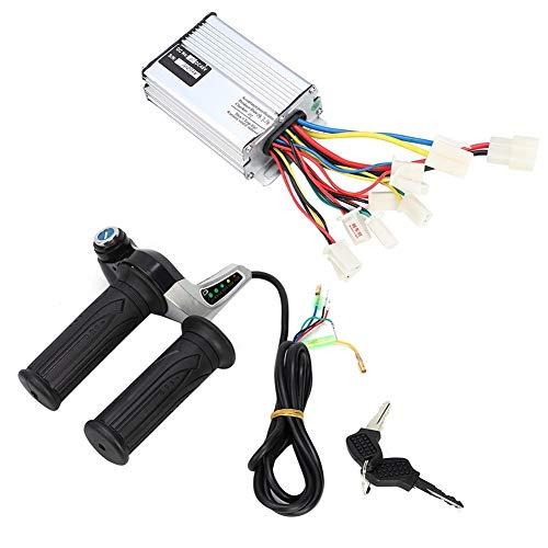 DEWIN Elektrisches Speed Grip - 48V 1000W elektrisches Fahrrad Motor Brushed Speed Box-Controller mit Gaspendel Grip Zubehör