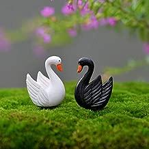 Parsley. Artificial Mini Goose Animals Fairy Garden Miniatures Terrariums Resin Craft Figurines Home Decoration Accessories 4Pcs
