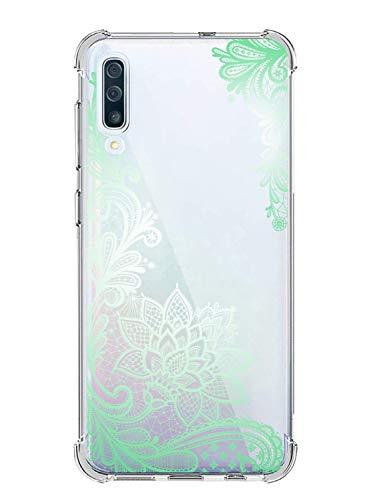 Suhctup Compatibile per Cover Samsung Galaxy J1Mini / J105 Silicone, Custodia Antiurto Bumper Galaxy J1Mini, Custodia Morbido TPU Trasparente Protettiva Case [ Pizzo ]