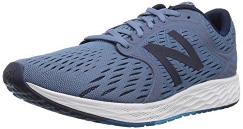 New Balance Men's Fresh Foam Zante V4 Running Shoe, Deep Porcelain Blue/Pigment, 10 M US