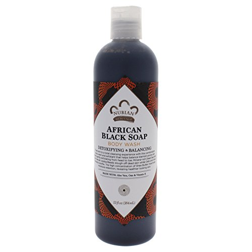 Nubian Heritage Body Wash, African Black Soap, 300 ml
