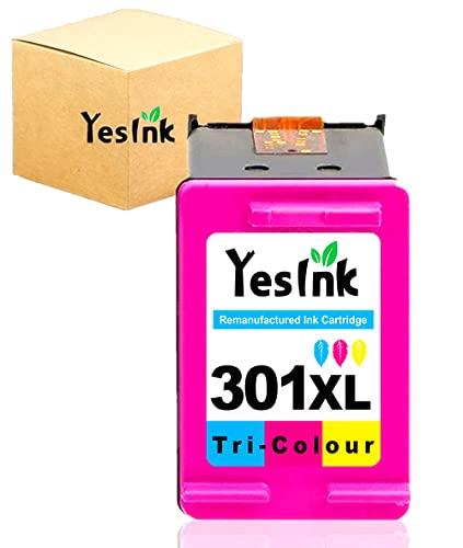 301XL Cartuchos de tinta reciclados para tinta HP 301 tinta impresora HP 301 para HP DeskJet 1000 Envy 4500 5530 OfficeJet 2620 4630 (1 Tricromia)