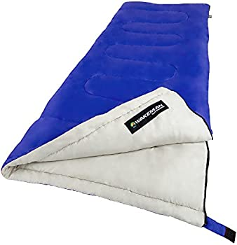 Wakeman Adult 300G Outdoors Sleeping Bag with Compression Straps